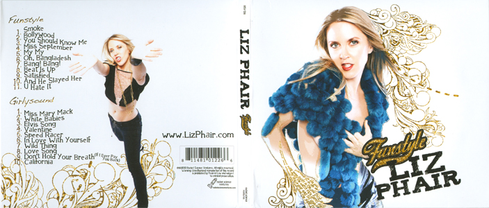 Funstyle, the latest from Liz Phair, in stores NOW, go out and buy it!