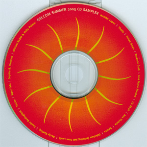 Gay.com Summer 2003 CD Sampler disc